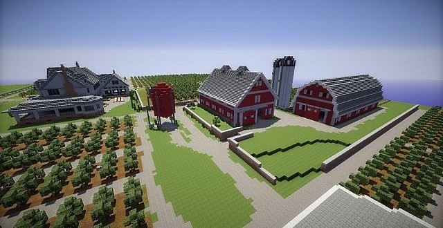 Farm – Minecraft Building Inc