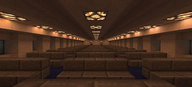 Boeing 777 200 United Airlines minecraft building ideas airport plane 3