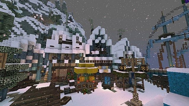 Frozen Movie - Arendelle minecraft building ideas 15