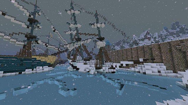 Frozen Movie - Arendelle minecraft building ideas 16