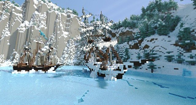 Frozen Movie - Arendelle minecraft building ideas 2