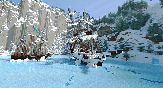 Frozen Movie - Arendelle minecraft building ideas 2