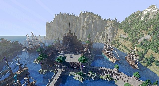 Frozen Movie - Arendelle minecraft building ideas 3