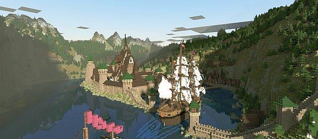 Frozen Movie - Arendelle minecraft building ideas 4
