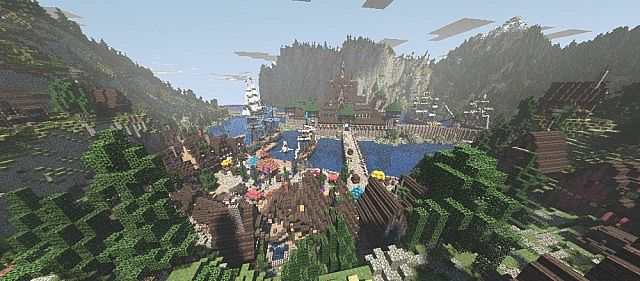 Frozen Movie - Arendelle minecraft building ideas 5