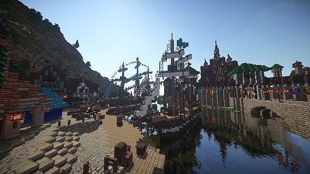 Frozen Movie - Arendelle minecraft building ideas 6