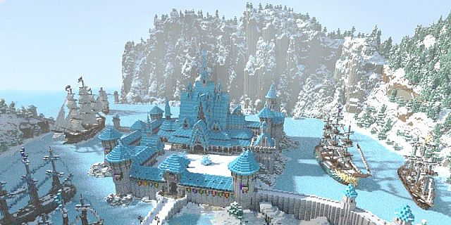 Frozen Movie - Arendelle minecraft building ideas