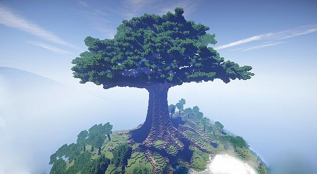 Biggest Minecraft House In The World 2013 mother of trees | largest ever and a town – minecraft building inc