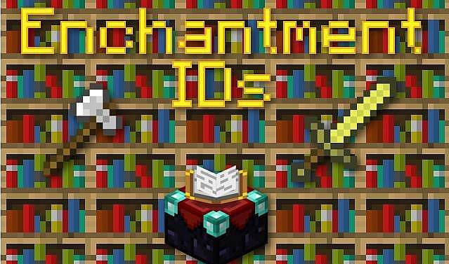 Enchantment Minecraft banner IDs