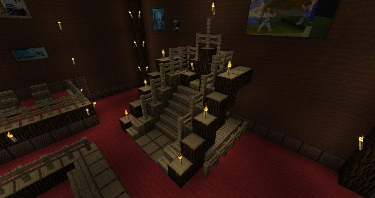 Royal Palace minecraft casdle design build ideas 6