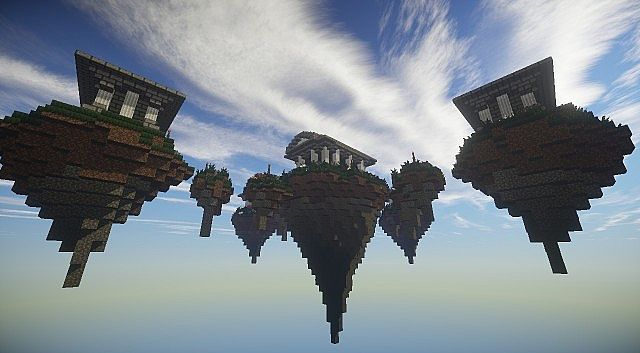 The Gates to Aether Server Hub Spawn minecraft build ideas 5