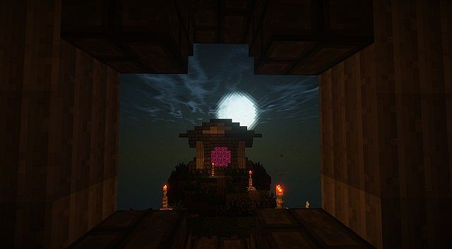 The Gates to Aether Server Hub Spawn minecraft build ideas 7