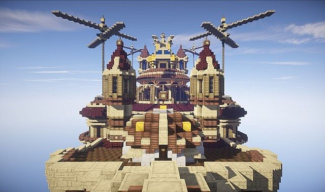 Theater Airship M.S. Prima Vista air ship minecraft build 5