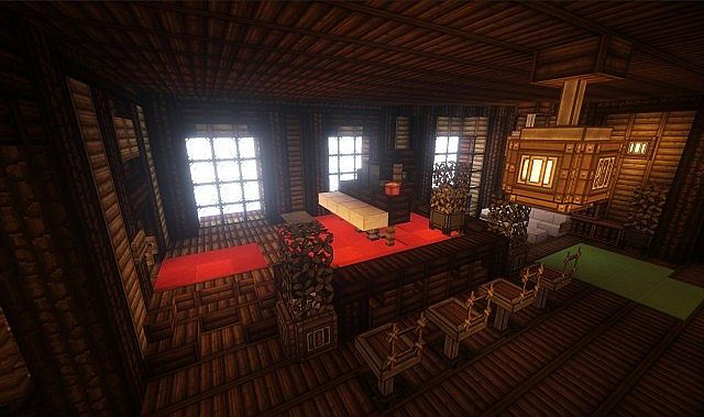 Theater Airship M.S. Prima Vista air ship minecraft build 7