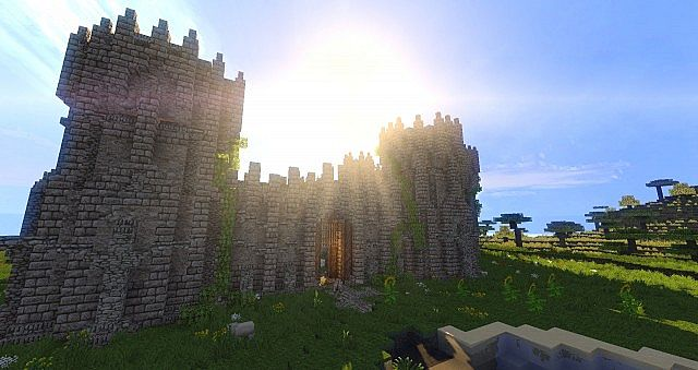 wulfstone castle minecraft ideas old style 2