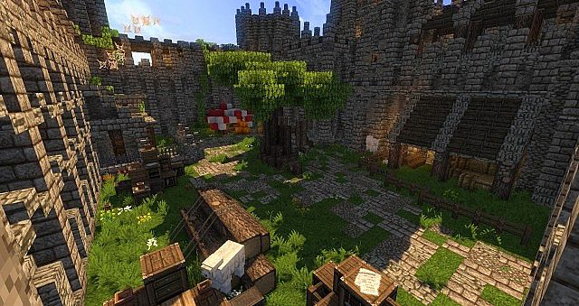 wulfstone castle minecraft ideas old style 3