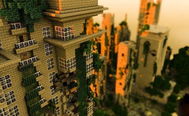 Despair Island minecraft building ideas post apocalypse city ruins 3