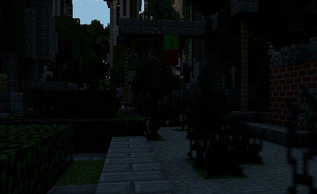 Despair Island minecraft building ideas post apocalypse city ruins 4
