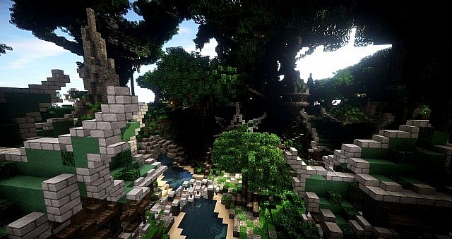 Elven Map Pack and Download Building ideas single build 2