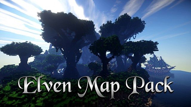 Elven Map Pack and Download Building ideas single build