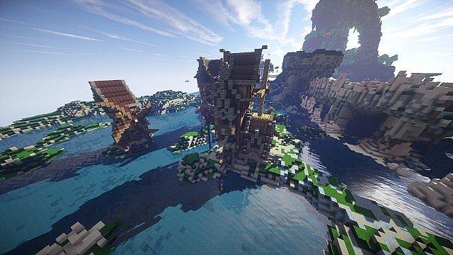 Eulias Steampunk Hideaway minecraft tower build 2