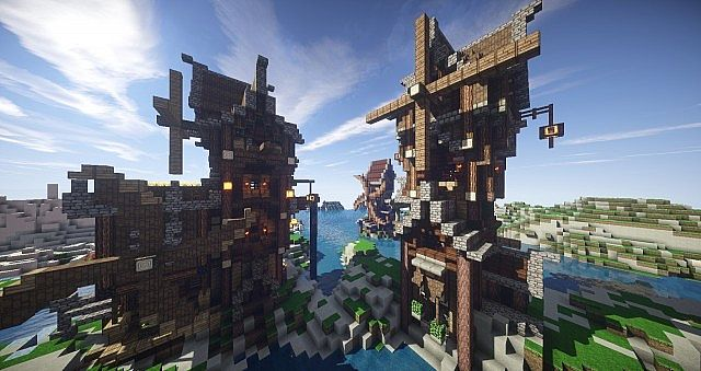 Eulias Steampunk Hideaway minecraft tower build 3