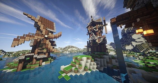 Eulias Steampunk Hideaway minecraft tower build 4