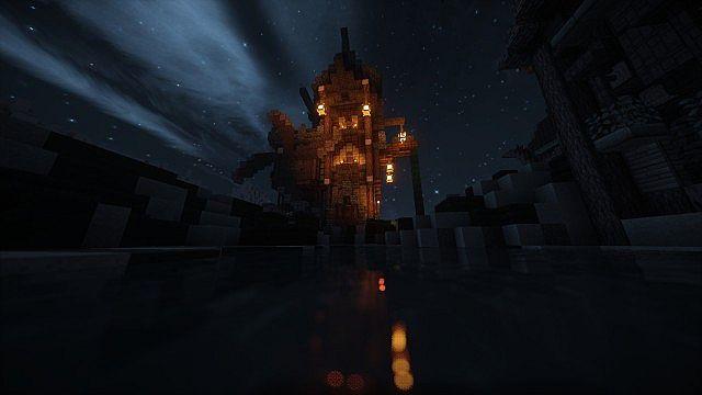 Eulias Steampunk Hideaway minecraft tower build 7
