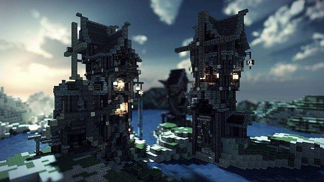 Eulias Steampunk Hideaway minecraft tower build