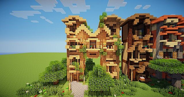 Minecraft frame house idea writing 2