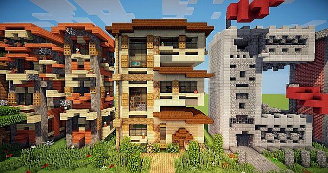 Minecraft frame house idea writing 5