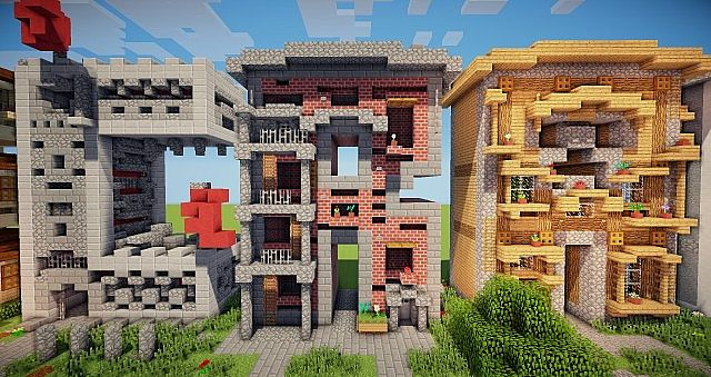 Minecraft frame house idea writing 7
