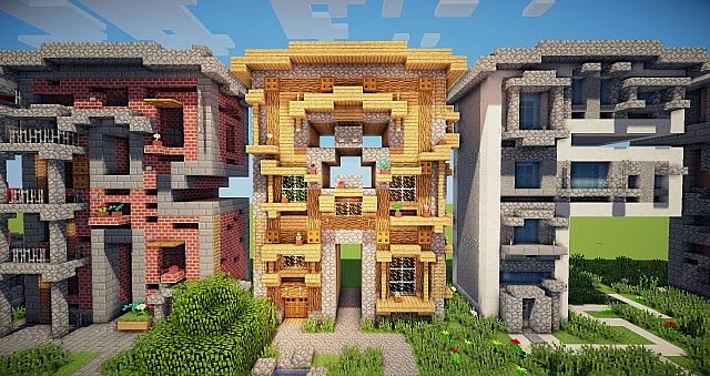 Minecraft frame house idea writing 8