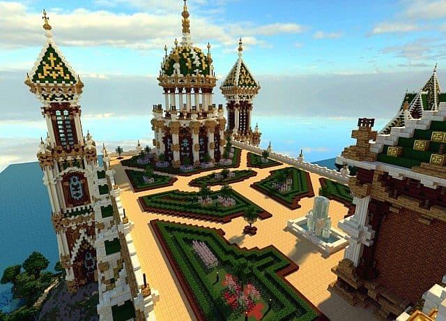 The Palace of Daibahr bouiyait minecraft building ideas tower 11