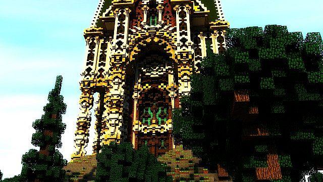 The Palace of Daibahr bouiyait minecraft building ideas tower 12