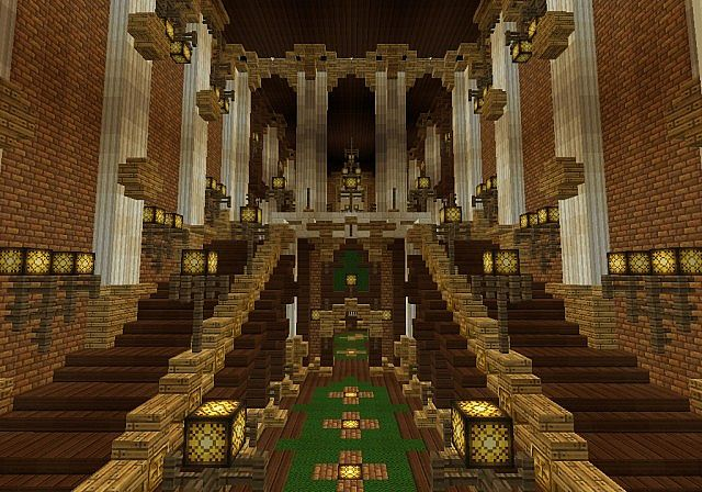 The Palace of Daibahr bouiyait minecraft building ideas tower 14