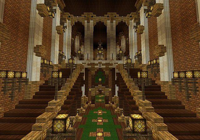 The Palace of Daibahr bouiyait minecraft building ideas tower 14