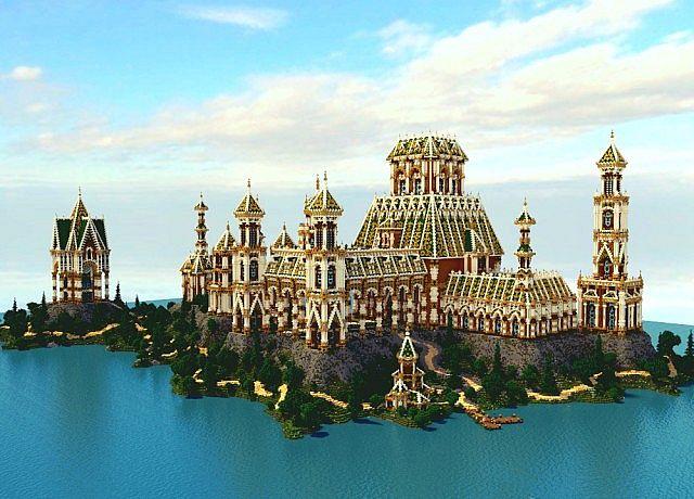 The Palace of Daibahr bouiyait minecraft building ideas tower 2