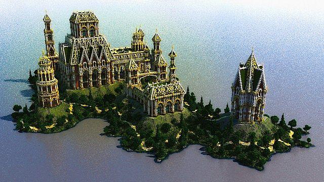 The Palace of Daibahr bouiyait minecraft building ideas tower 3