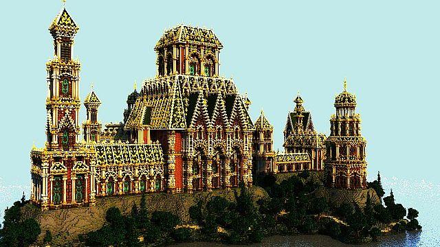 The Palace of Daibahr bouiyait minecraft building ideas tower 4