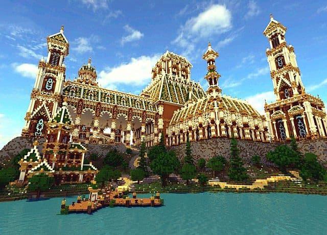 The Palace of Daibahr bouiyait minecraft building ideas tower 5
