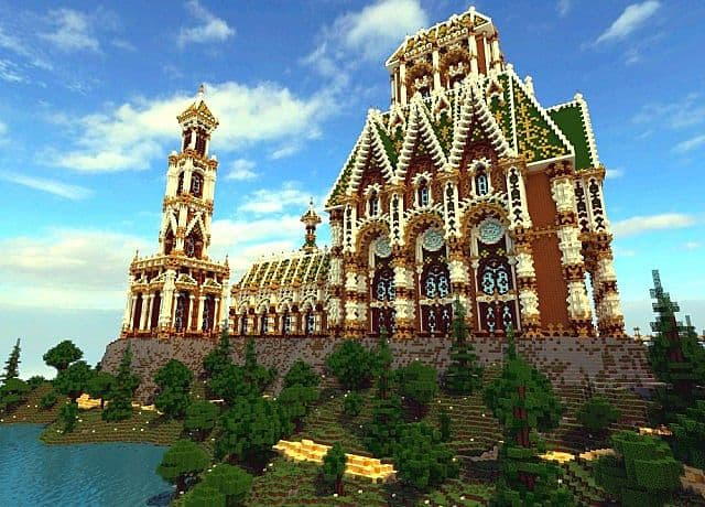 The Palace of Daibahr bouiyait minecraft building ideas tower 6