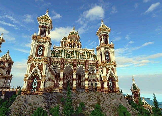 The Palace of Daibahr bouiyait minecraft building ideas tower 7