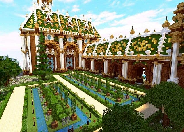 The Palace of Daibahr bouiyait minecraft building ideas tower 8