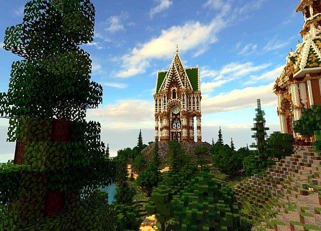 The Palace of Daibahr bouiyait minecraft building ideas tower 9