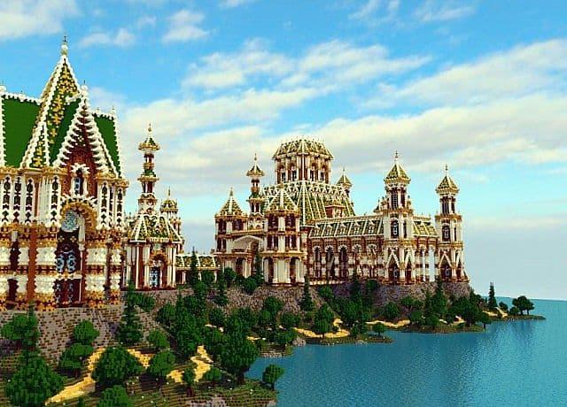 The Palace of Daibahr bouiyait minecraft building ideas tower