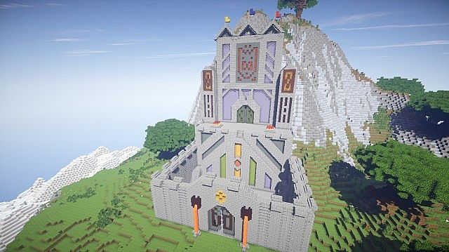 CloudTop The World Above The Clouds minecraft castle ideas 11