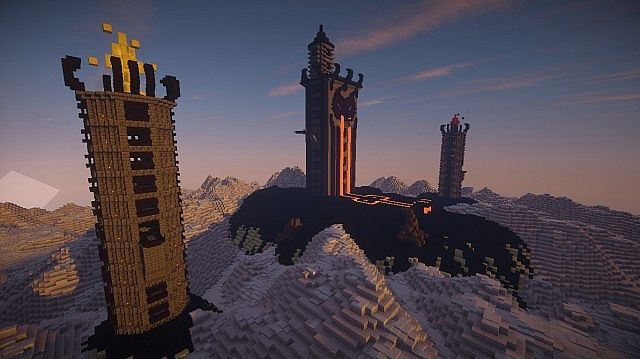 CloudTop The World Above The Clouds minecraft castle ideas 7