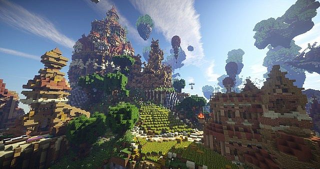 Hearthveil lost in thought clouds minecraft building ideas 10
