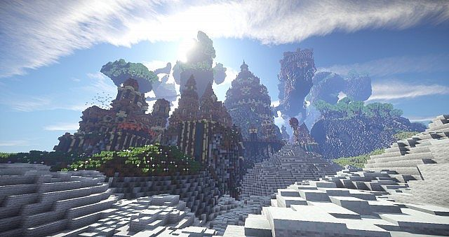 Hearthveil lost in thought clouds minecraft building ideas 13